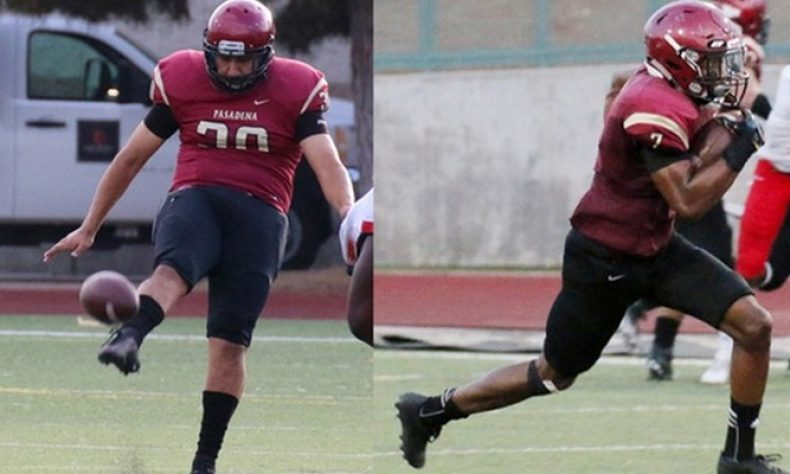 Pasadena City College Football's Lozano, Muhammad